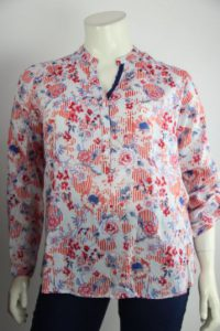 Blouse met print Open End